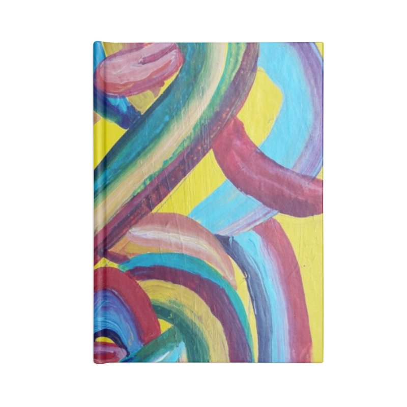 Formas en el espacio 3 Accessories Lined Journal Notebook by diegomanuel's Artist Shop