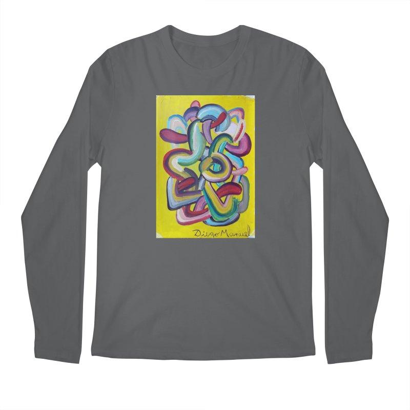 Formas en el espacio 2 Men's Longsleeve T-Shirt by Diego Manuel Rodriguez Artist Shop