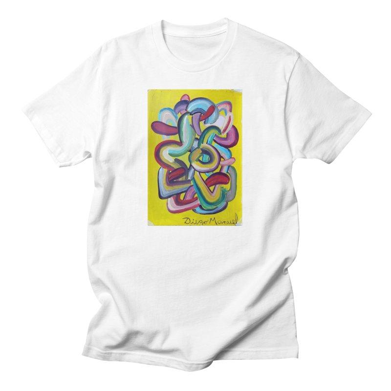 Formas en el espacio 2 Men's T-Shirt by Diego Manuel Rodriguez Artist Shop