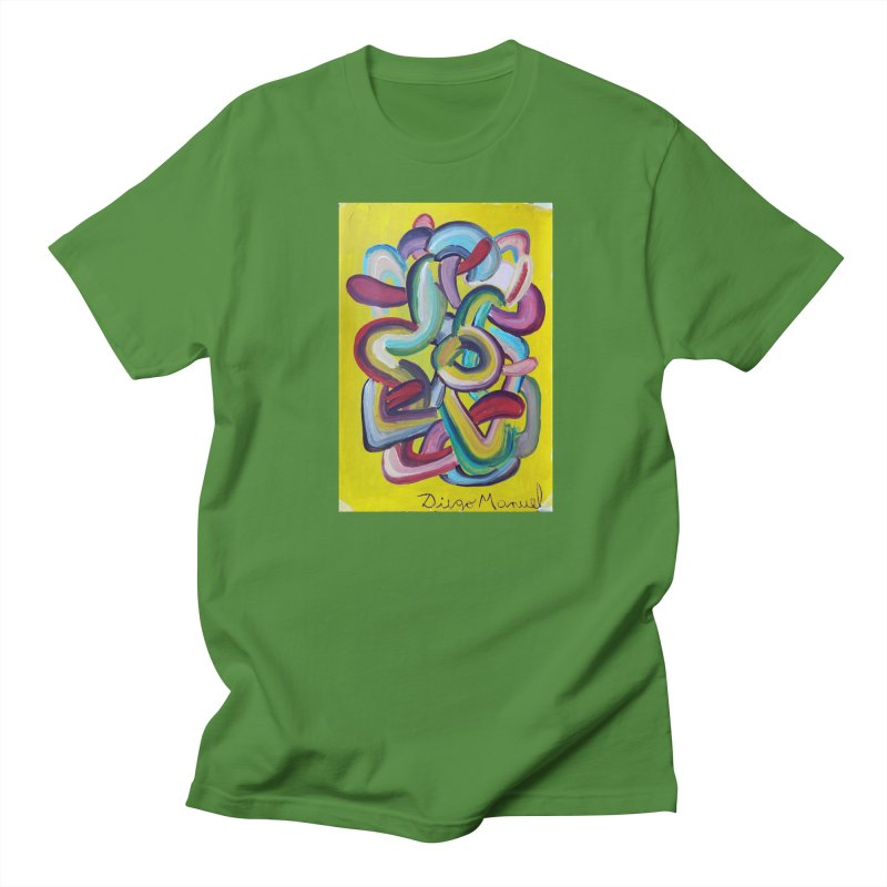 Formas en el espacio 2 Men's T-shirt by diegomanuel's Artist Shop