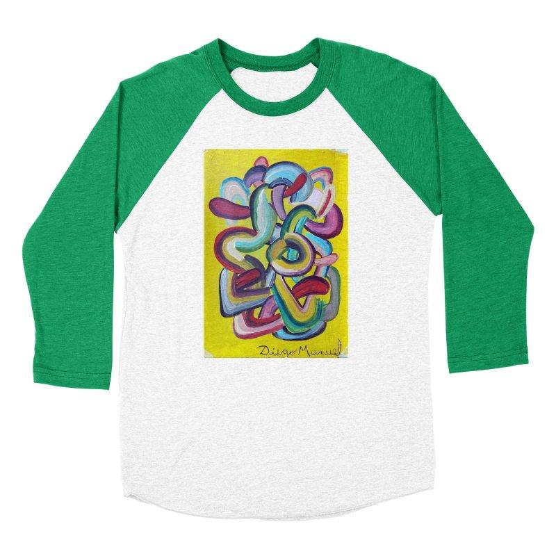 Formas en el espacio 2 Men's Baseball Triblend T-Shirt by diegomanuel's Artist Shop