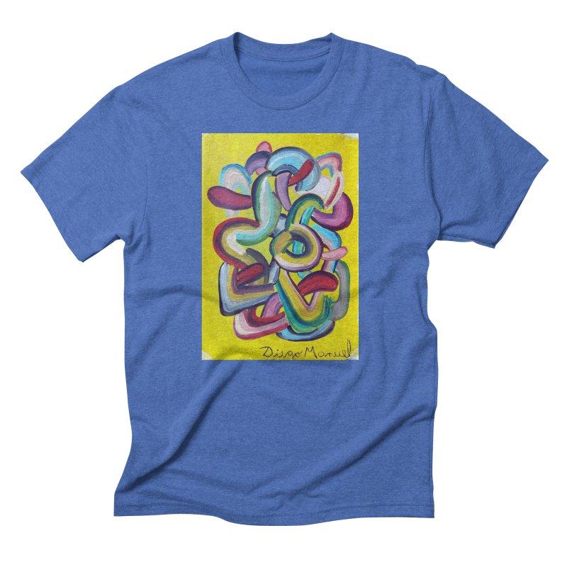 Formas en el espacio 2 Men's Triblend T-shirt by diegomanuel's Artist Shop