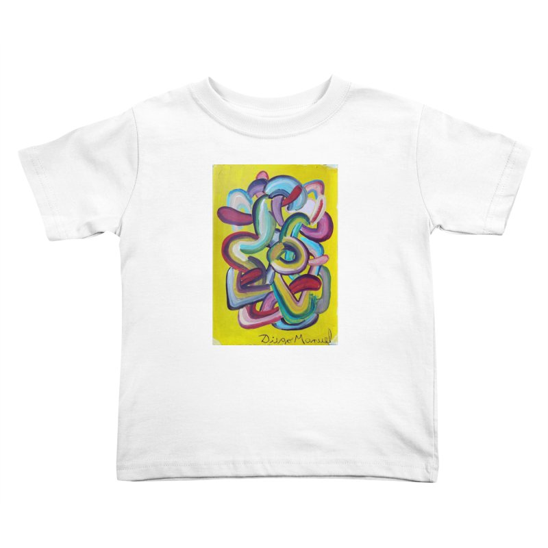 Formas en el espacio 2 Kids Toddler T-Shirt by Diego Manuel Rodriguez Artist Shop