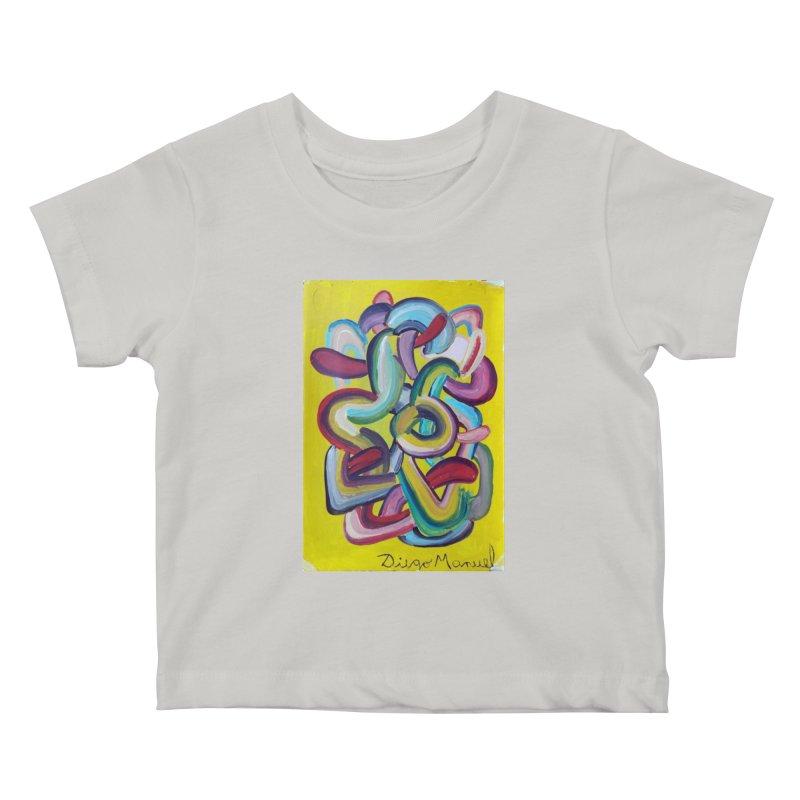 Formas en el espacio 2 Kids Baby T-Shirt by diegomanuel's Artist Shop