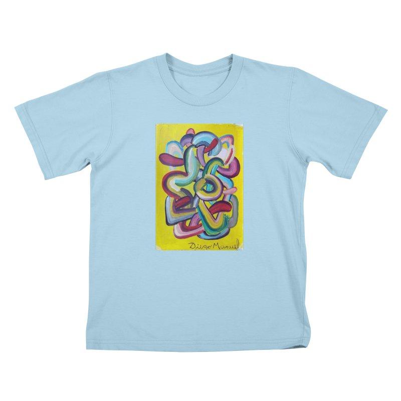 Formas en el espacio 2 Kids T-Shirt by diegomanuel's Artist Shop