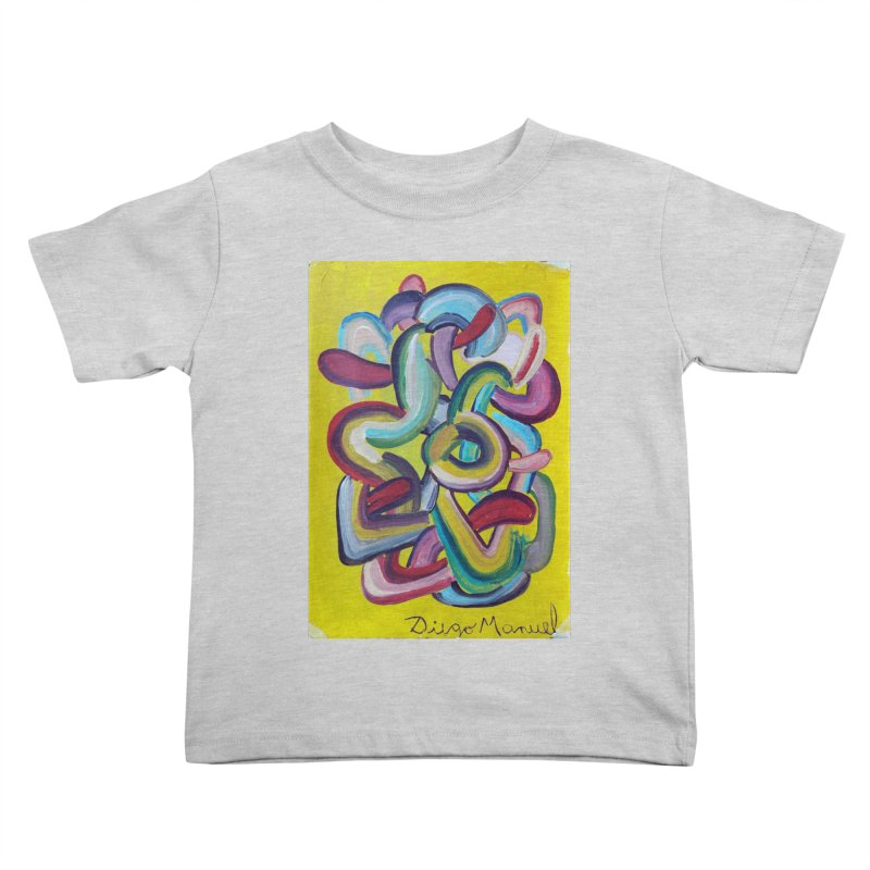 Formas en el espacio 2 Kids Toddler T-Shirt by diegomanuel's Artist Shop