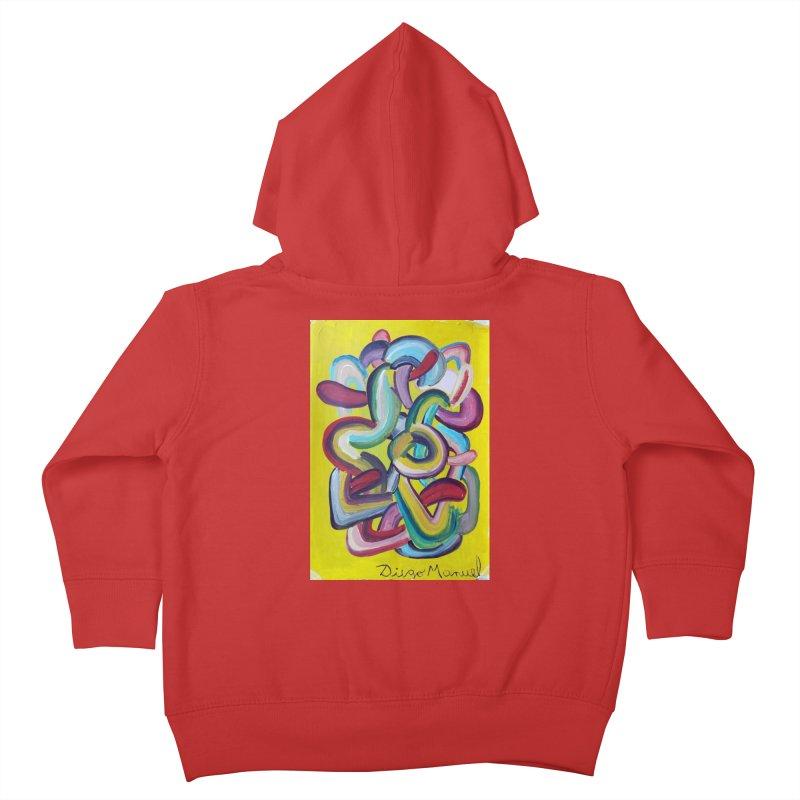 Formas en el espacio 2 Kids Toddler Zip-Up Hoody by Diego Manuel Rodriguez Artist Shop