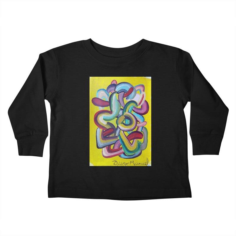 Formas en el espacio 2 Kids Toddler Longsleeve T-Shirt by Diego Manuel Rodriguez Artist Shop