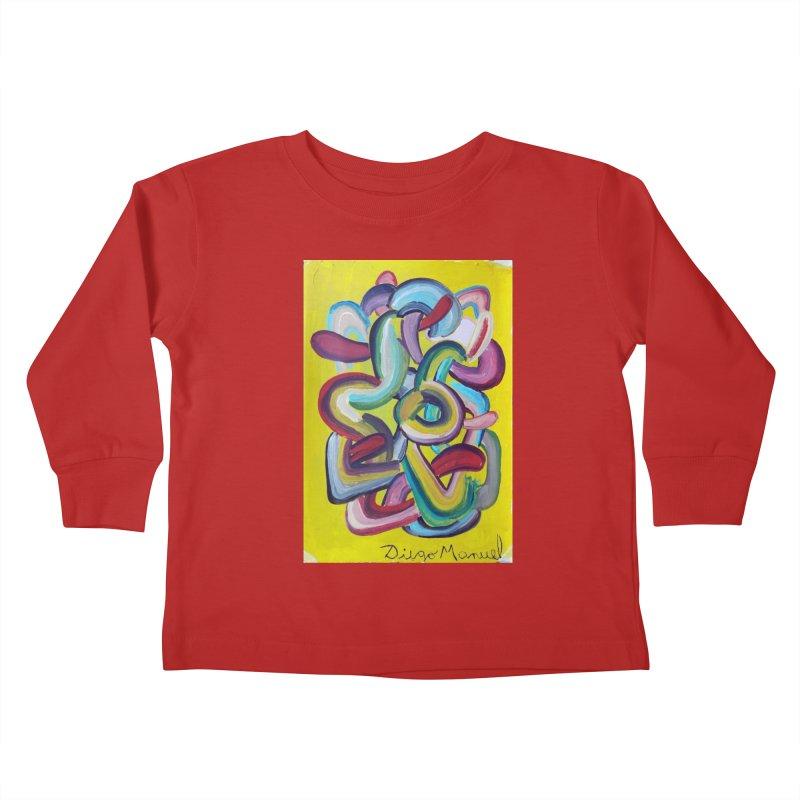 Formas en el espacio 2 Kids Toddler Longsleeve T-Shirt by diegomanuel's Artist Shop