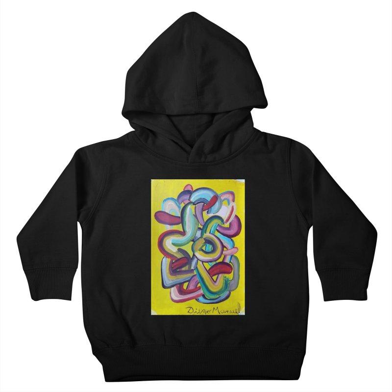 Formas en el espacio 2 Kids Toddler Pullover Hoody by diegomanuel's Artist Shop