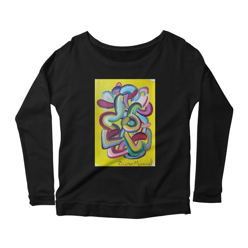 Formas en el espacio 2 Women's Scoop Neck Longsleeve T-Shirt by diegomanuel's Artist Shop