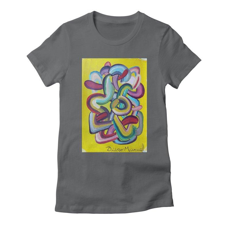 Formas en el espacio 2 Women's T-Shirt by Diego Manuel Rodriguez Artist Shop