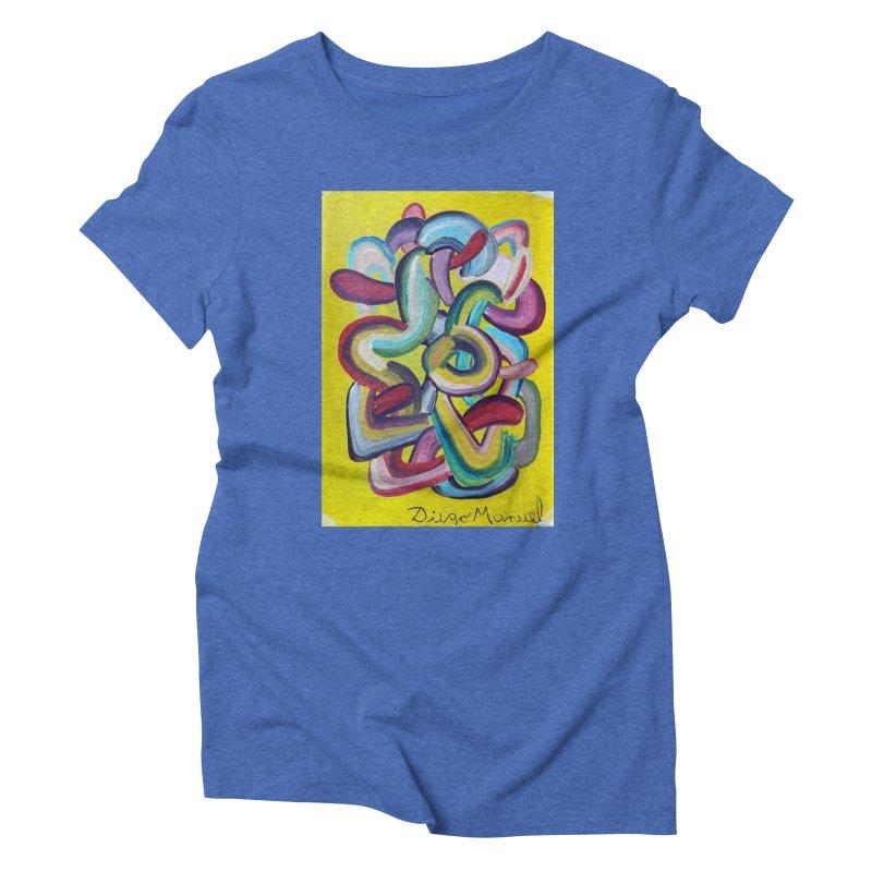 Formas en el espacio 2 Women's Triblend T-shirt by diegomanuel's Artist Shop