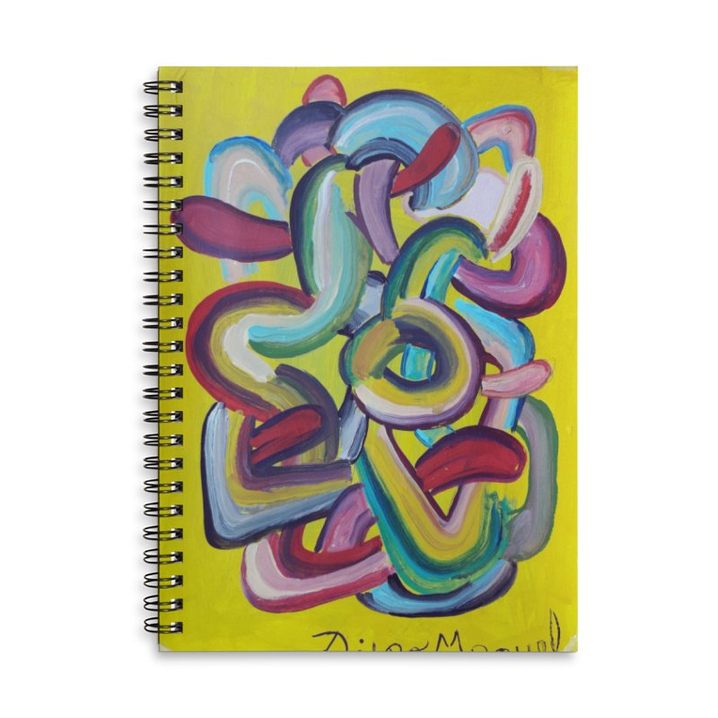 Formas en el espacio 2 Accessories Notebook by Diego Manuel Rodriguez Artist Shop