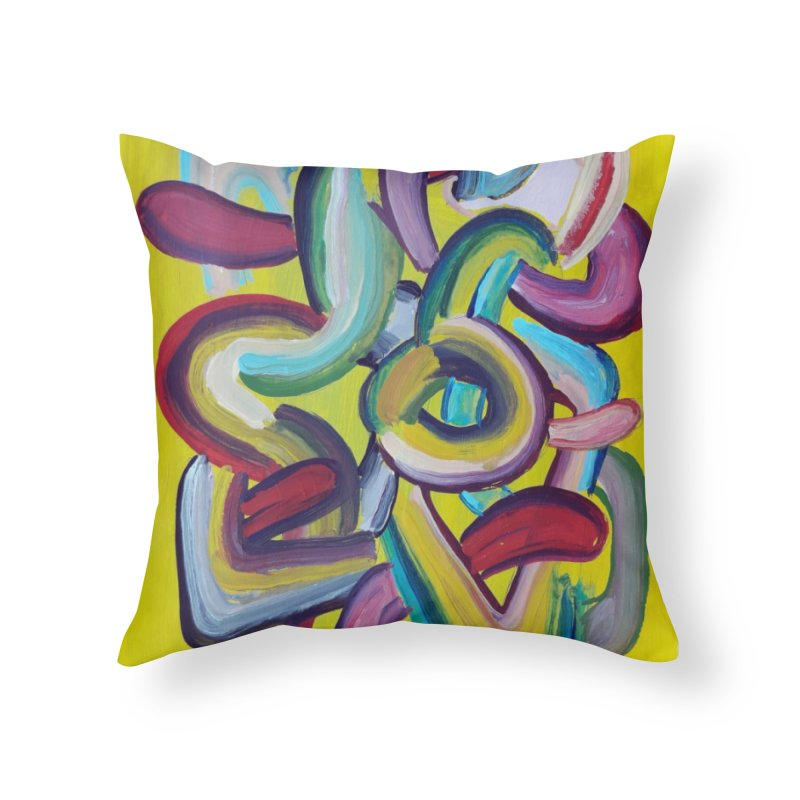 Formas en el espacio 2 Home Throw Pillow by diegomanuel's Artist Shop