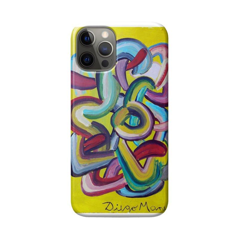 Formas en el espacio 2 Accessories Phone Case by Diego Manuel Rodriguez Artist Shop