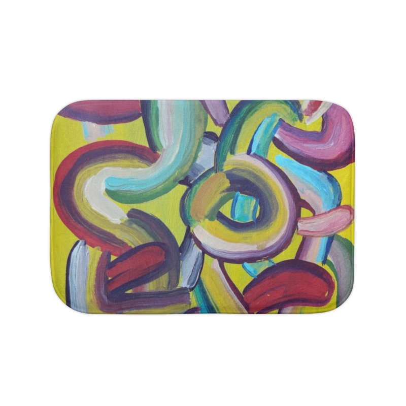 Formas en el espacio 2 Home Bath Mat by diegomanuel's Artist Shop