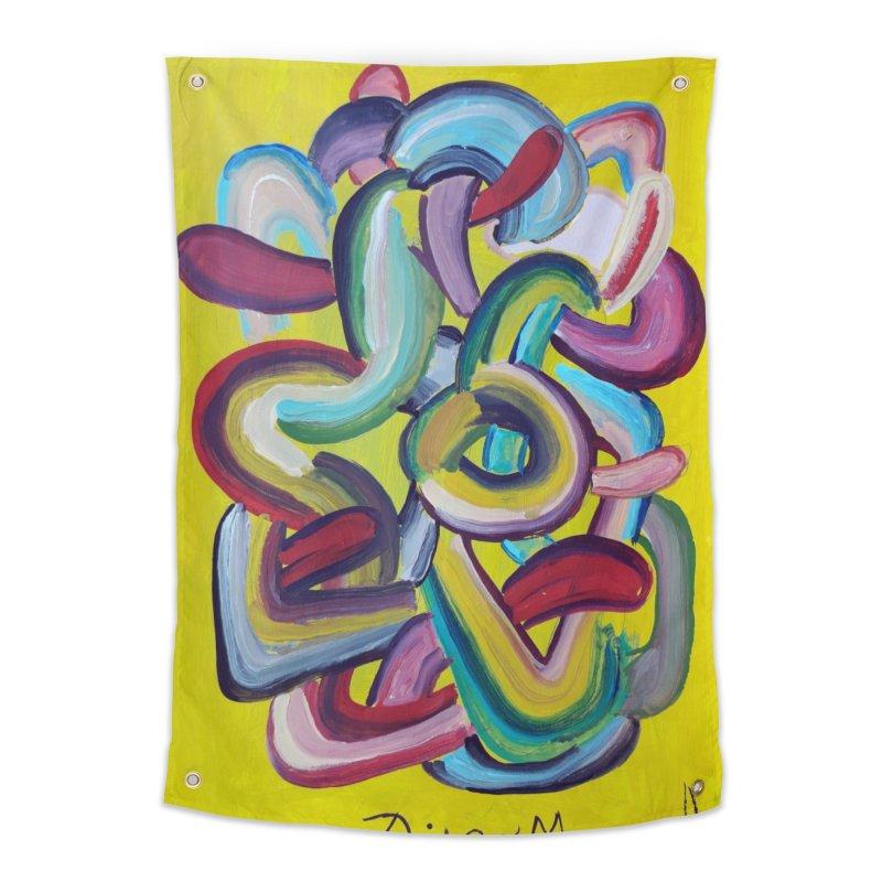 Formas en el espacio 2 Home Tapestry by diegomanuel's Artist Shop