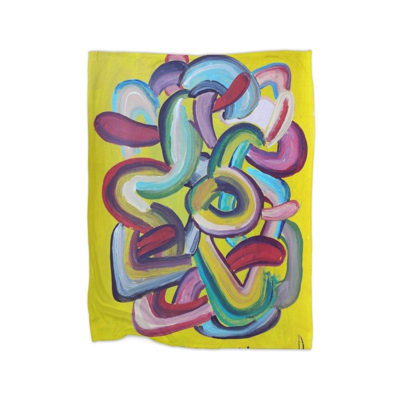 Formas en el espacio 2 Home Blanket by diegomanuel's Artist Shop