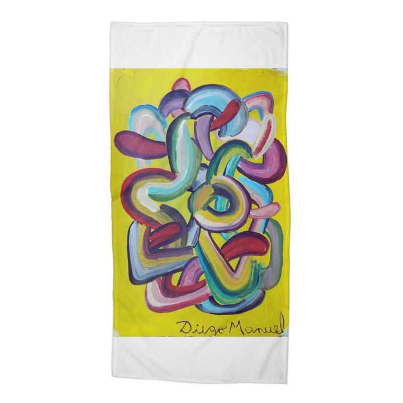 Formas en el espacio 2 Accessories Beach Towel by Diego Manuel Rodriguez Artist Shop