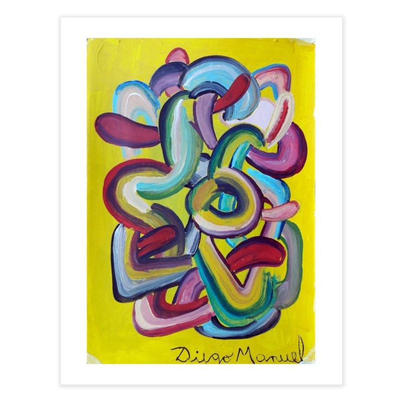 Formas en el espacio 2 Home Fine Art Print by Diego Manuel Rodriguez Artist Shop