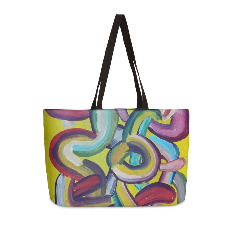 Formas en el espacio 2 Accessories Weekender Bag Bag by diegomanuel's Artist Shop