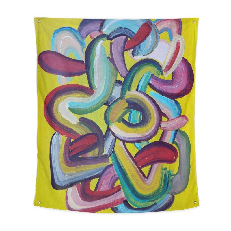 Formas en el espacio 2 Home Tapestry by Diego Manuel Rodriguez Artist Shop