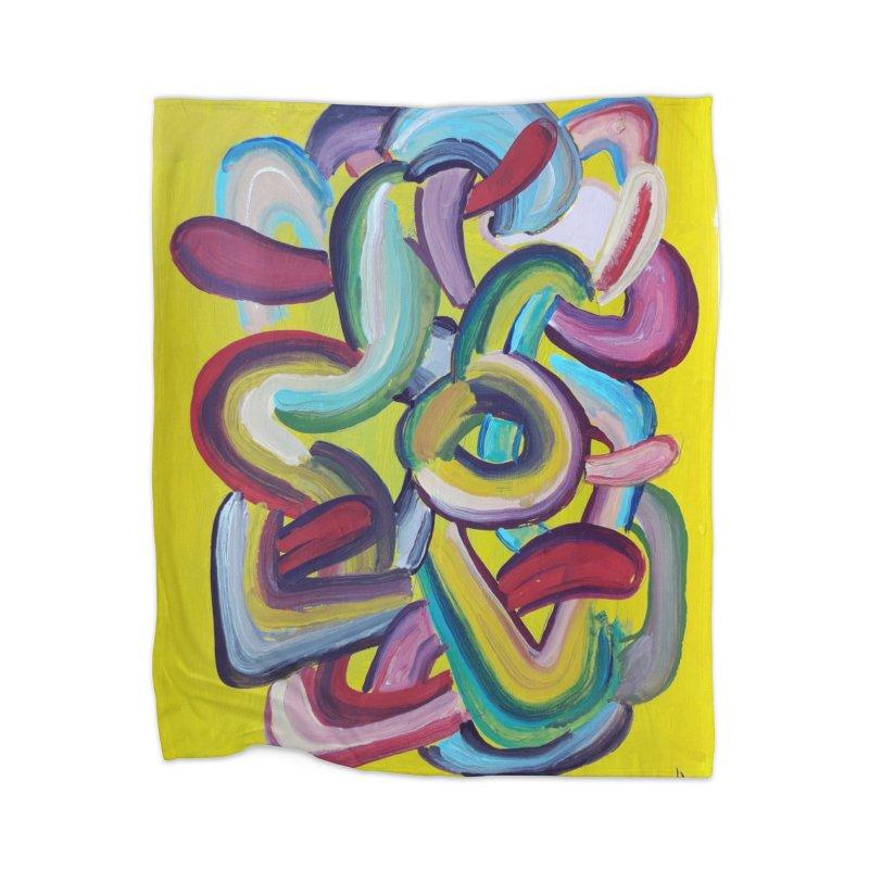Formas en el espacio 2 Home Blanket by Diego Manuel Rodriguez Artist Shop