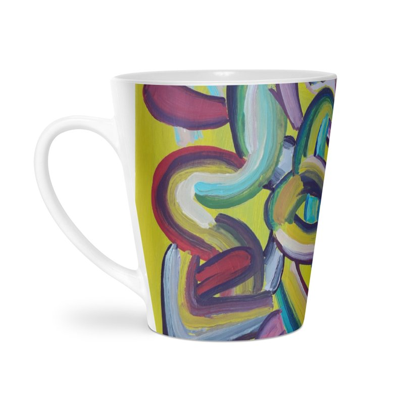 Formas en el espacio 2 Accessories Latte Mug by diegomanuel's Artist Shop
