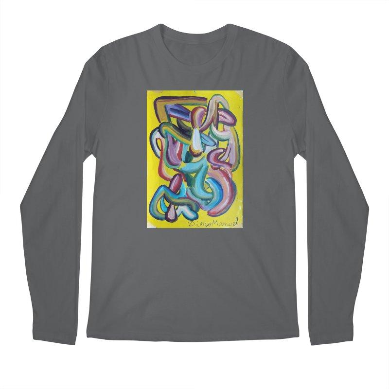 Formas en el espacio 1 Men's Longsleeve T-Shirt by Diego Manuel Rodriguez Artist Shop