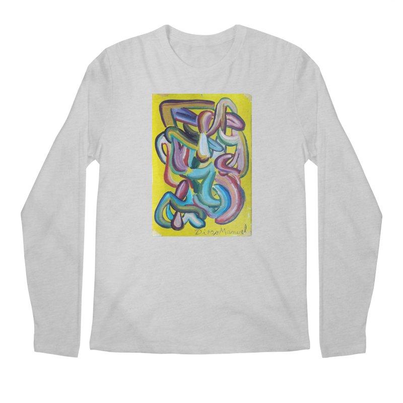 Formas en el espacio 1 Men's Longsleeve T-Shirt by diegomanuel's Artist Shop