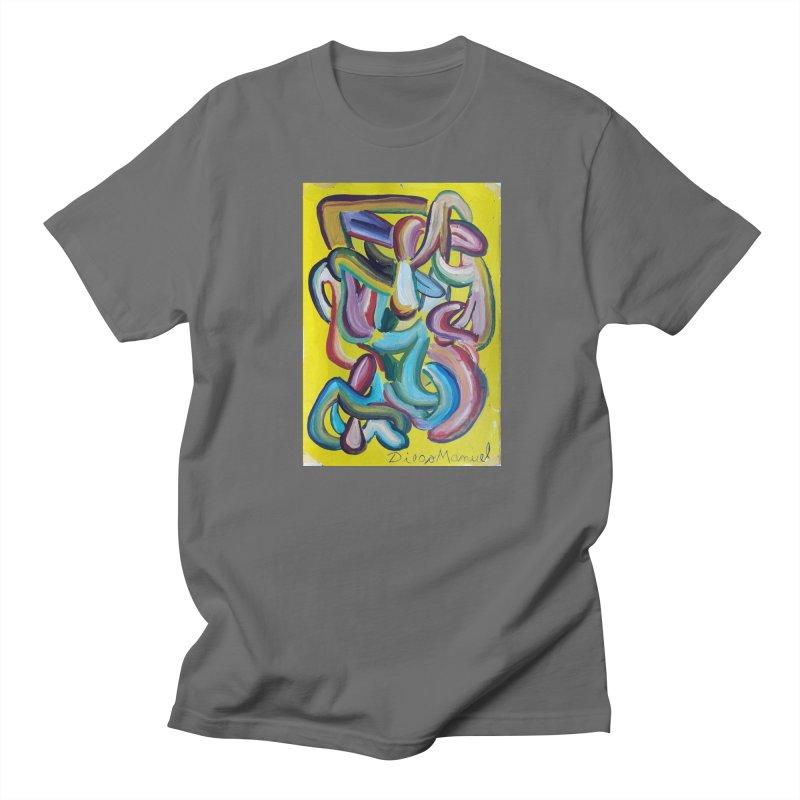 Formas en el espacio 1 Men's T-shirt by diegomanuel's Artist Shop