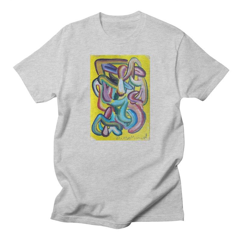 Formas en el espacio 1 Men's T-Shirt by Diego Manuel Rodriguez Artist Shop