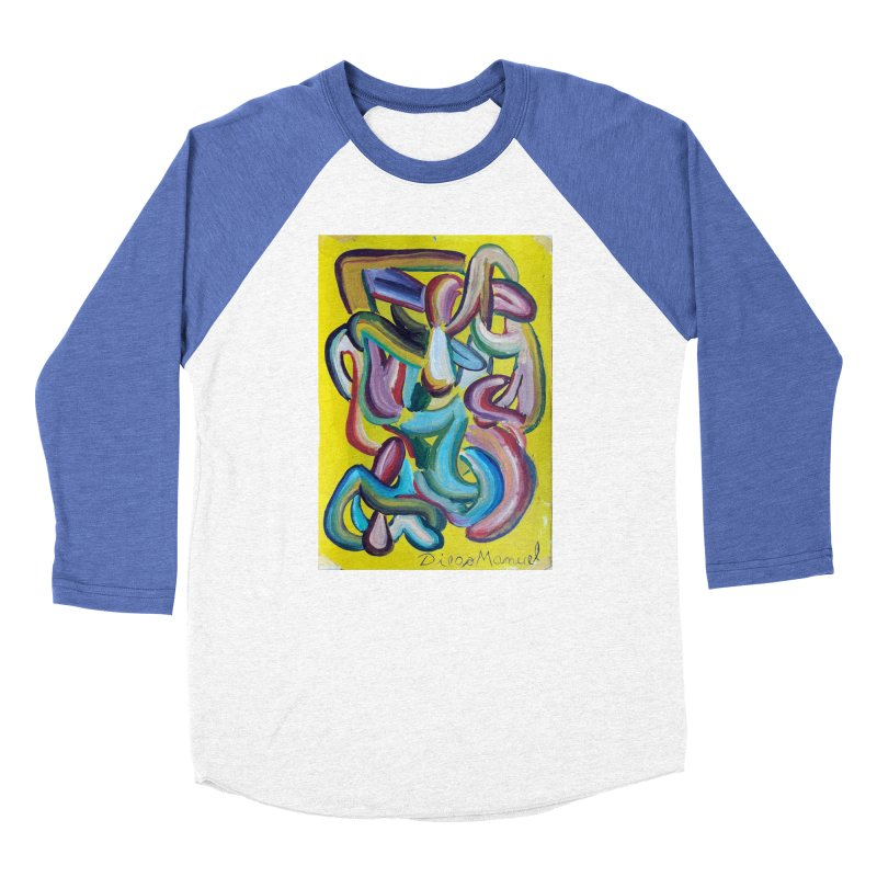 Formas en el espacio 1 Men's Baseball Triblend T-Shirt by diegomanuel's Artist Shop