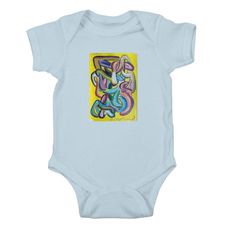 Formas en el espacio 1 Kids Baby Bodysuit by diegomanuel's Artist Shop