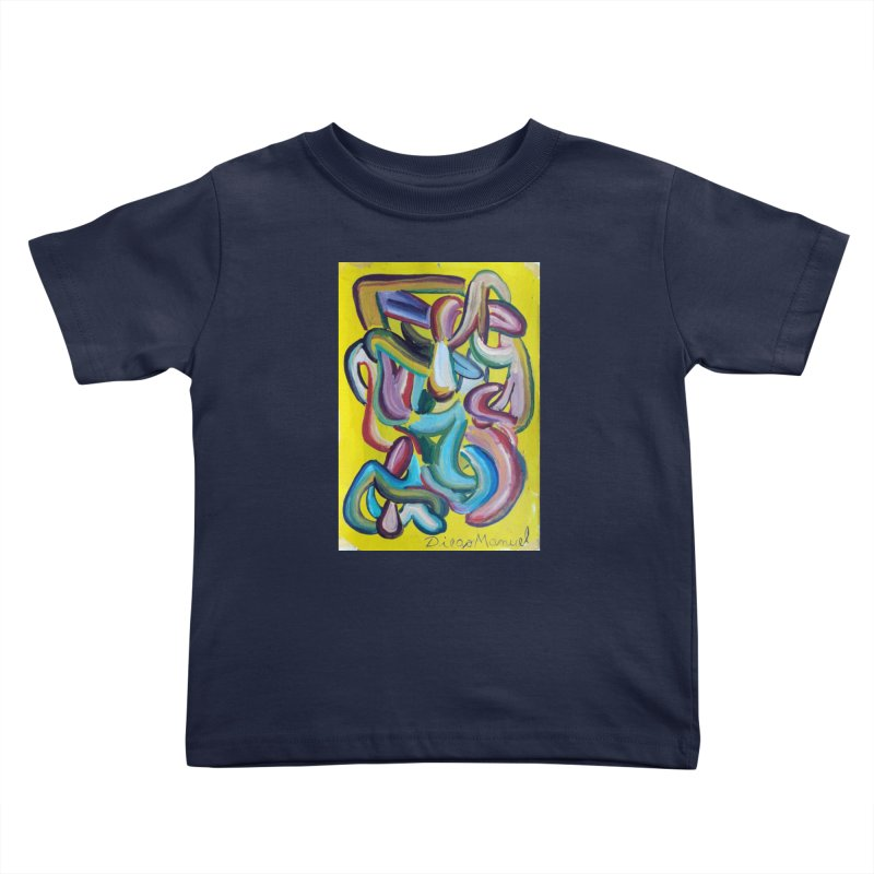 Formas en el espacio 1 Kids Toddler T-Shirt by diegomanuel's Artist Shop