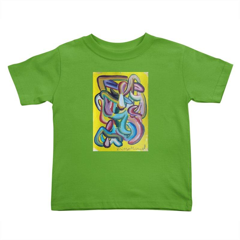 Formas en el espacio 1 Kids Toddler T-Shirt by Diego Manuel Rodriguez Artist Shop