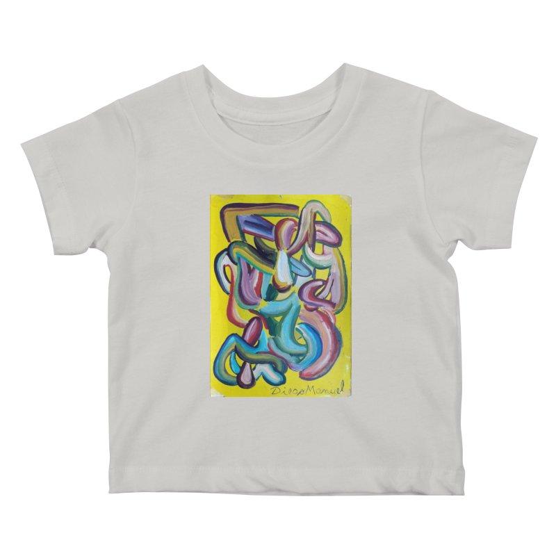 Formas en el espacio 1 Kids Baby T-Shirt by diegomanuel's Artist Shop