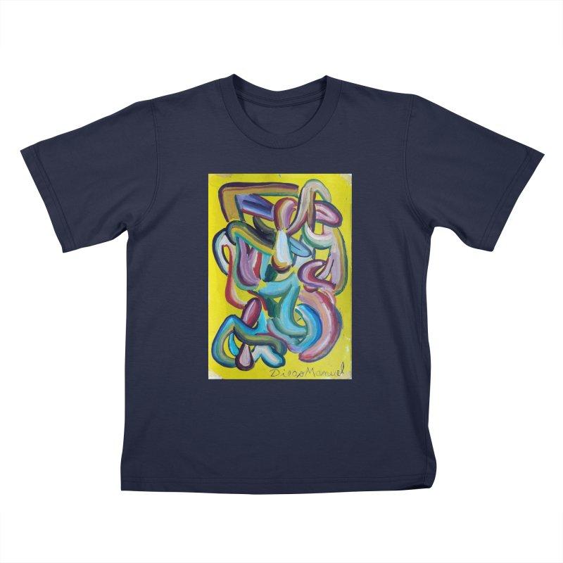Formas en el espacio 1 Kids T-Shirt by Diego Manuel Rodriguez Artist Shop