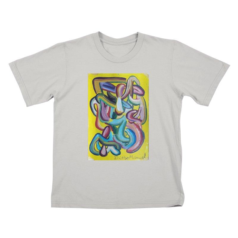 Formas en el espacio 1 Kids T-shirt by diegomanuel's Artist Shop