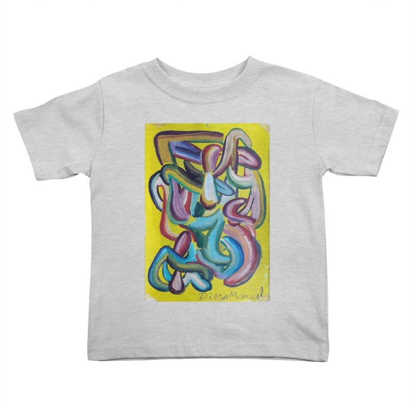 Formas en el espacio 1 Kids Toddler T-Shirt by diegomanuel's Artist Shop