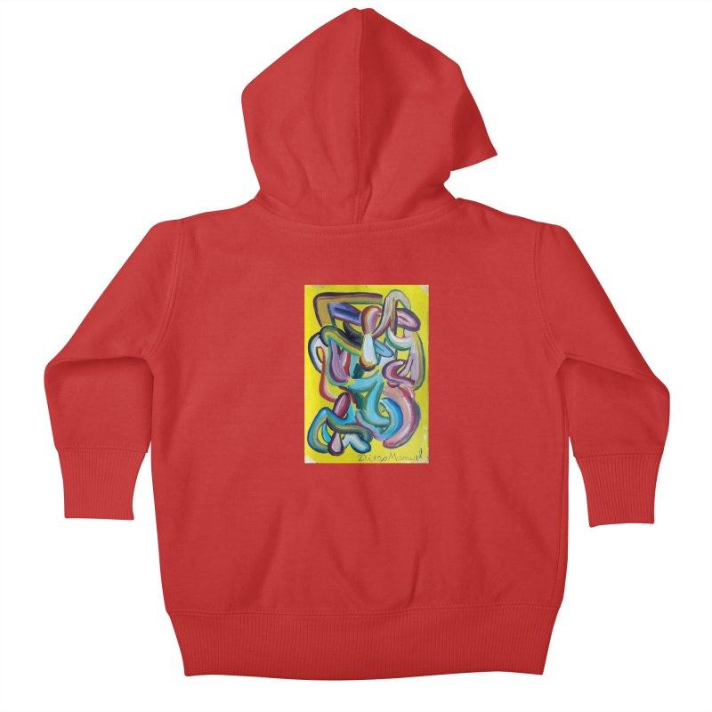 Formas en el espacio 1 Kids Baby Zip-Up Hoody by Diego Manuel Rodriguez Artist Shop