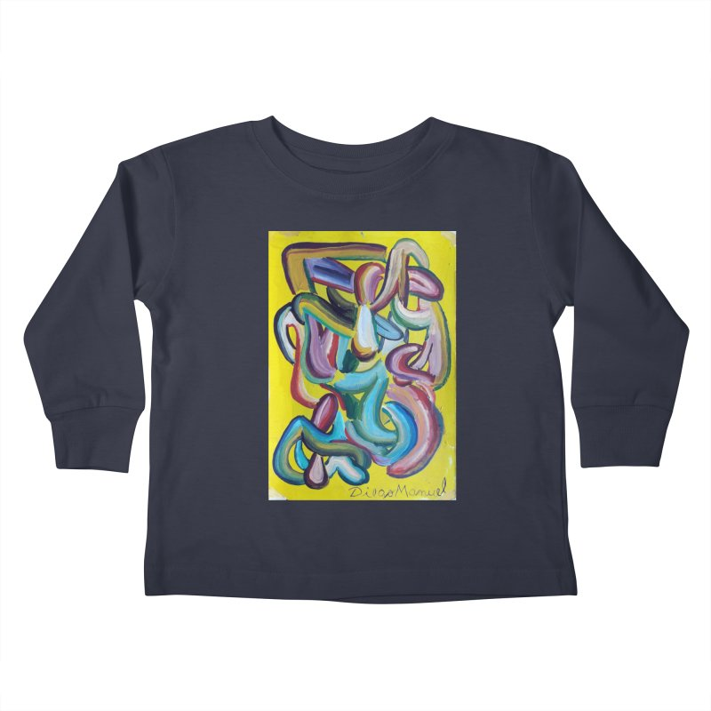 Formas en el espacio 1 Kids Toddler Longsleeve T-Shirt by diegomanuel's Artist Shop