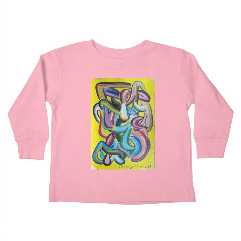 Formas en el espacio 1 Kids Toddler Longsleeve T-Shirt by diegomanuel's Artist Shop