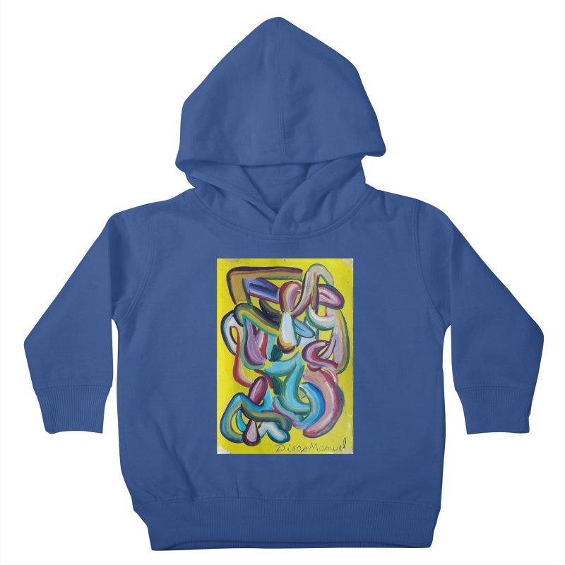 Formas en el espacio 1 Kids Toddler Pullover Hoody by diegomanuel's Artist Shop