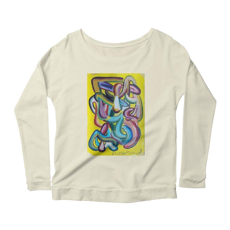 Formas en el espacio 1 Women's Scoop Neck Longsleeve T-Shirt by diegomanuel's Artist Shop