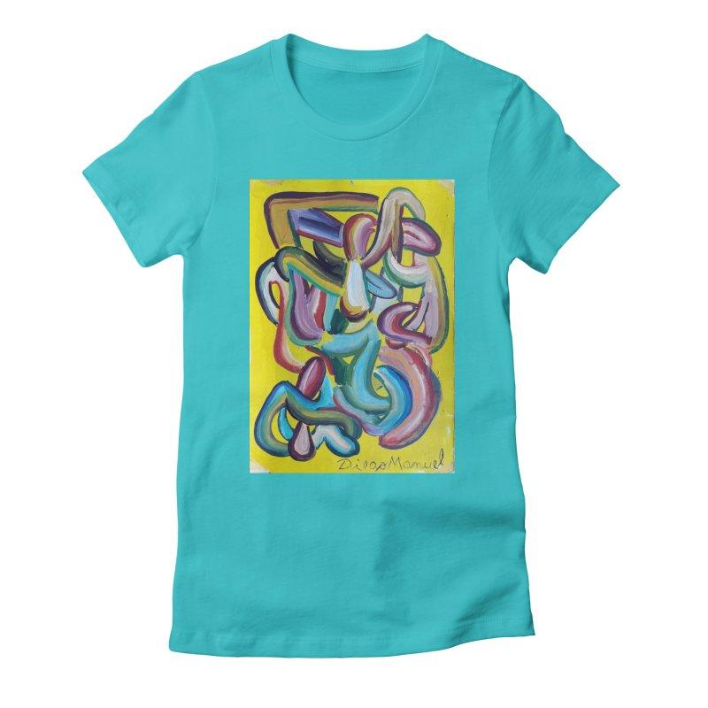 Formas en el espacio 1 Women's T-Shirt by Diego Manuel Rodriguez Artist Shop