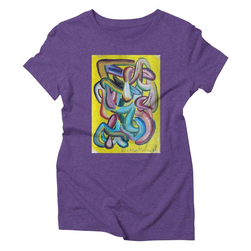 Formas en el espacio 1 Women's Triblend T-shirt by diegomanuel's Artist Shop