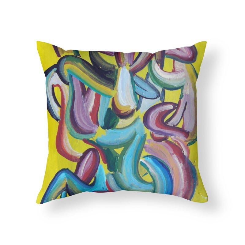 Formas en el espacio 1 Home Throw Pillow by diegomanuel's Artist Shop