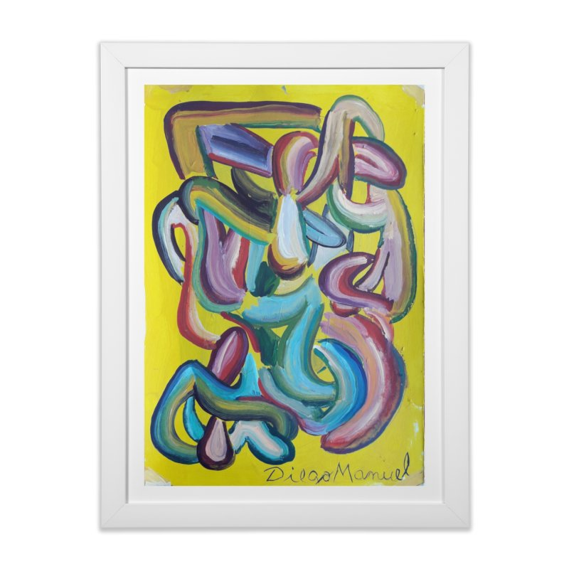 Formas en el espacio 1 Home Framed Fine Art Print by Diego Manuel Rodriguez Artist Shop